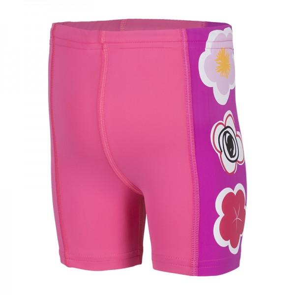 UV Sonnenschutz Shorts 'Lachsrot' für Kinder mit UPF 80 von hyphen