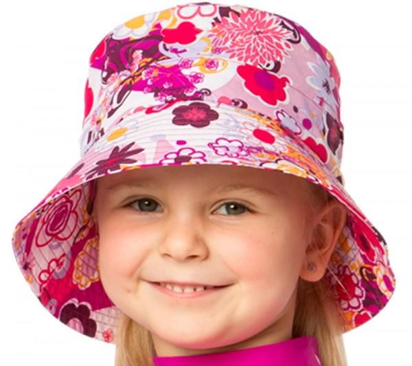 UV  Sonnenhut 'flowers' für Kinder mit UPF 80 Grösse 54-56 von hyphen