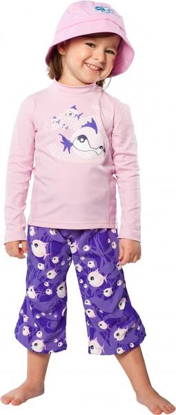 UV Sonnenschutz Langarmshirt 'syc tag' für Kinder mit UPF 80 von hyphen