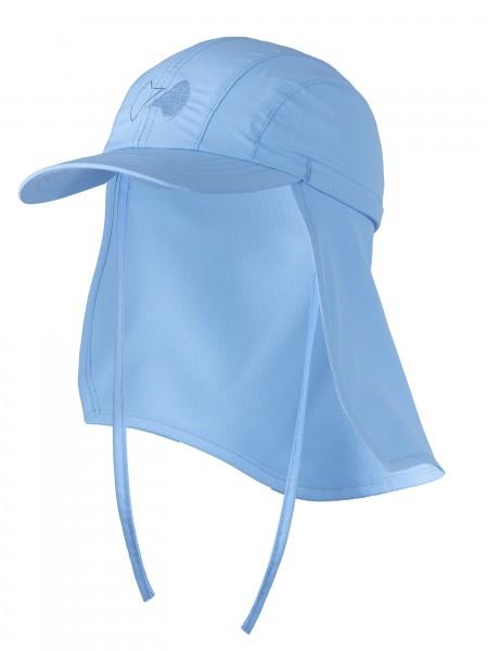 Sonnenkappe 'pid blue` Grösse 50-52