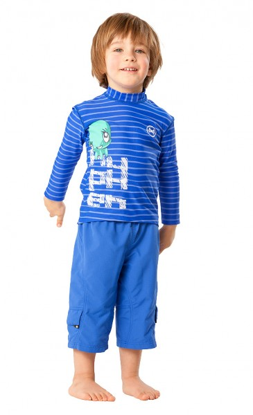 UV Sonnenschutz Hosen 'urban cobalt' für Kinder mit UPF 80 von hyphen