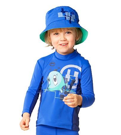 UV Sonnenschutz Langarmshirt 'snup the dub cobalt' für Kinder mit UPF 80 von hyphen