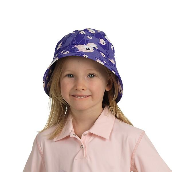 UV  Sonnenhut 'sycies violo' für Kinder mit UPF 80 Grösse 46-48 von hyphen