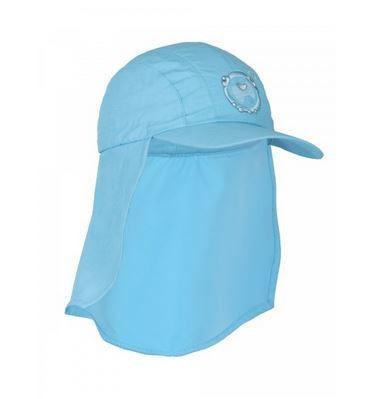 UV Sonnenhut 'azurito' für Kinder mit UPF 80 Grösse 50-52 von hyphen