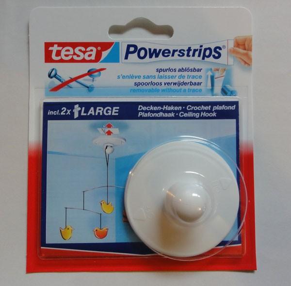 Wiederablösbare Tesa Powerstrips Deckenhaken