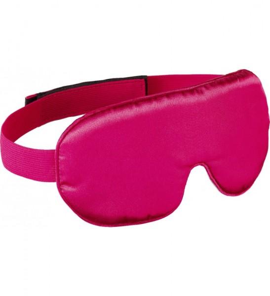 Design GO 725 Schlafmaske 'silky eye' für Reisen, Farbe rot