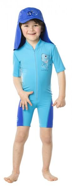UV Sonnenschutz Shorty 'sharky azurito' für Kinder mit UPF 80 Marke hyphen