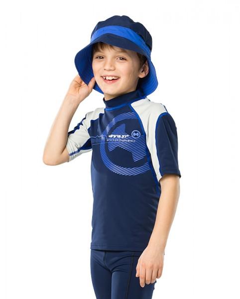 UV Sonnenschutz Kurzarmshirt 'siri son phlox' für Kinder mit UPF 80 von hyphen