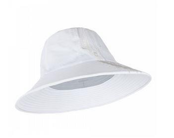 UV  Sonnenhut 'white' für Frauen mit UPF 80 Grösse 58-60 von hyphen