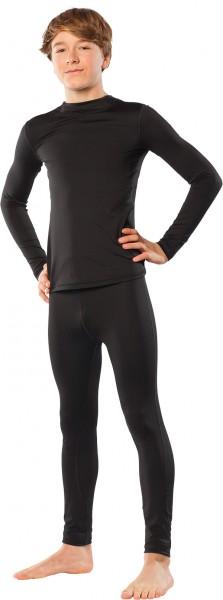 UV Sonnenschutz Langarmshirt 'black' 50945 Unisex mit UPF 80 von hyphen