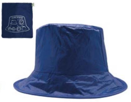 Faltbarer Regenhut 'SOS Sanpei' - blau