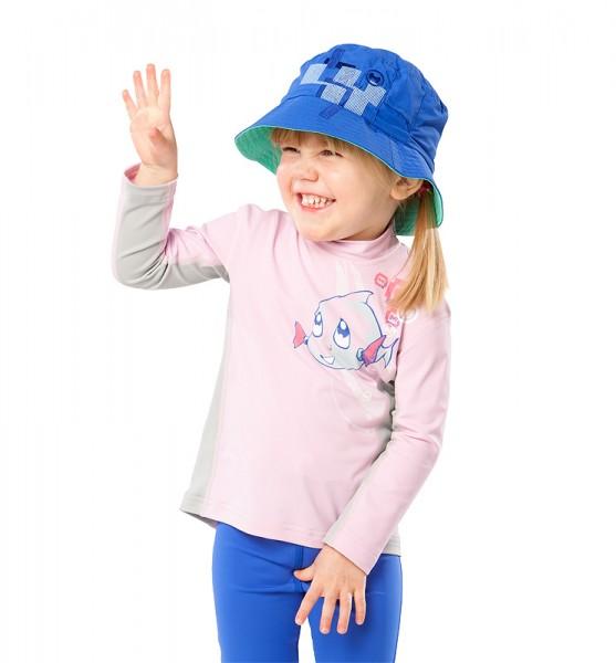 Sonnenschutz Langarmshirt 'hey snups' für Kinder mit UPF 80 von hyphen