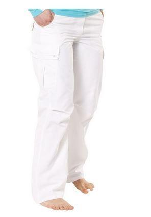Frauen Hose 'cross white' UPF 80 von Hyphen