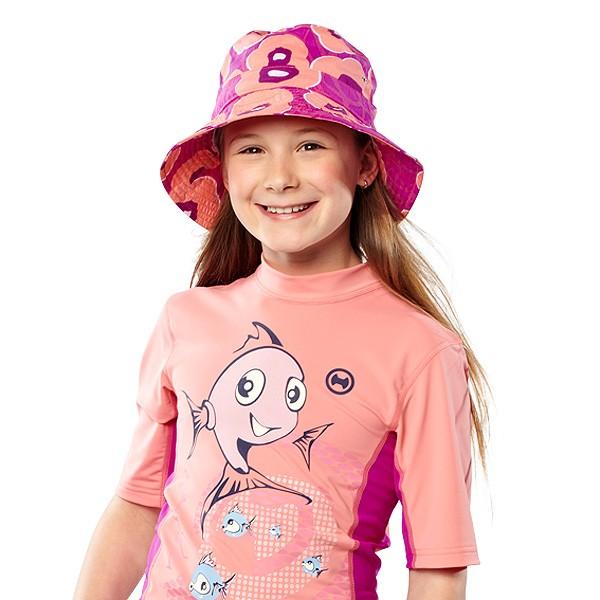 UV Sonnenschutz Kurzarmshirt 'syra' für Kinder mit UPF 80 von hyphen