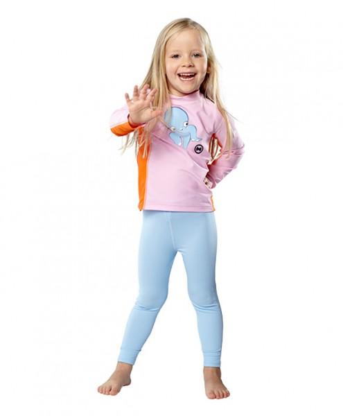 UV Sonnenschutz Hosen 'pid blue' für Kinder mit UPF 80 von hyphen in diversen Grössen