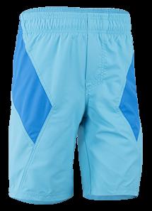 Kinder Shorts 'white blue imoloki azur/cielo' von Hyphen mit UPF 80