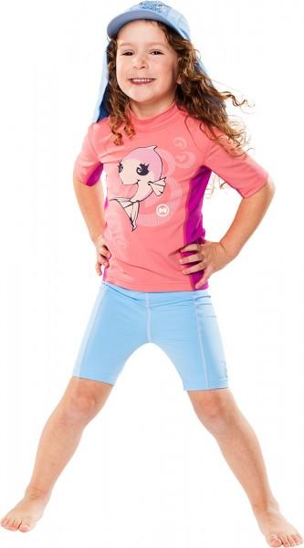 UV Sonnenschutz Shorts 'pid blue' für Kinder mit UPF 80 von hyphen