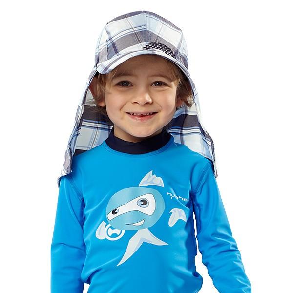UV  Sonnenhut 'kinneli' für Kinder mit UPF 80 Grösse 46-48 von hyphen