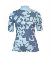 UV Sonnenschutz Kurzarmshirt'pieni light blue' für Frauen mit UPF 80 von hyphen