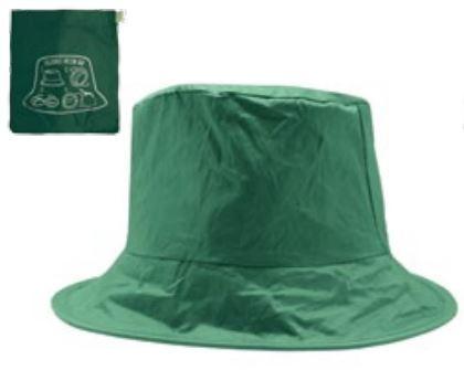 Faltbarer Regenhut SOS Sanpei, Farbe grün