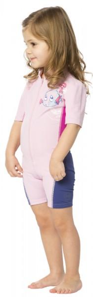 UV Sonnenschutz Shorty 'snuppy cameo rose' für Kinder mit UPF 80 von hyphen