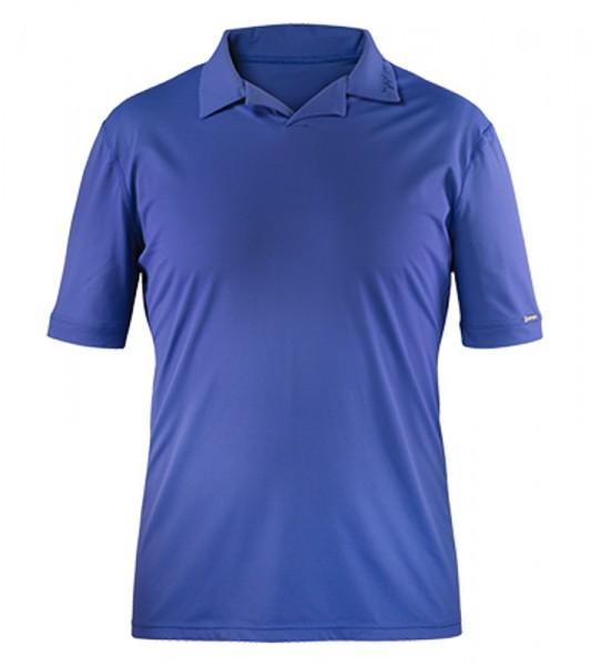 UV Sonnenschutz Poloshirt 'blue steel' für Herren mit UPF 40 Marke hyphen