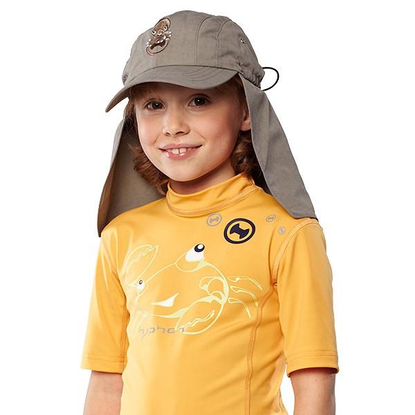 UV  Sonnenhut 'mink' für Kinder und Erwachsene mit UPF 80 Grösse 54-56 von hyphen