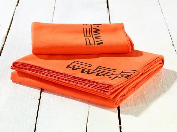 Mikrofaser-Badetuch, Farbe orange, 180x90 cm