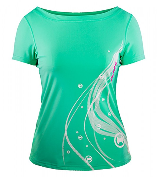UV Sonnenschutz Kurzarmshirt 'bermuda' 51276 für Frauen mit UPF 80 von hyphen