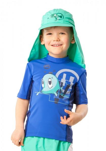 UV  Sonnenhut 'bermuda' für Kinder mit UPF 80 Grösse 46-48 von hyphen