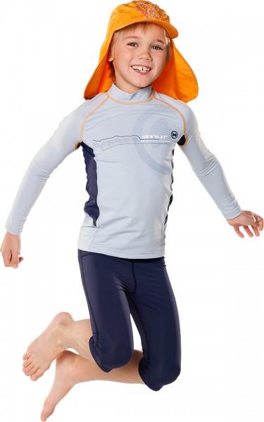 UV Sonnenschutz Langarmshirt 'satellite silvermoon' für Kinder mit UPF 80 von hyphen
