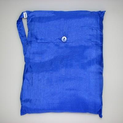 Seidenschlafsack in cobalt 85x300 cm