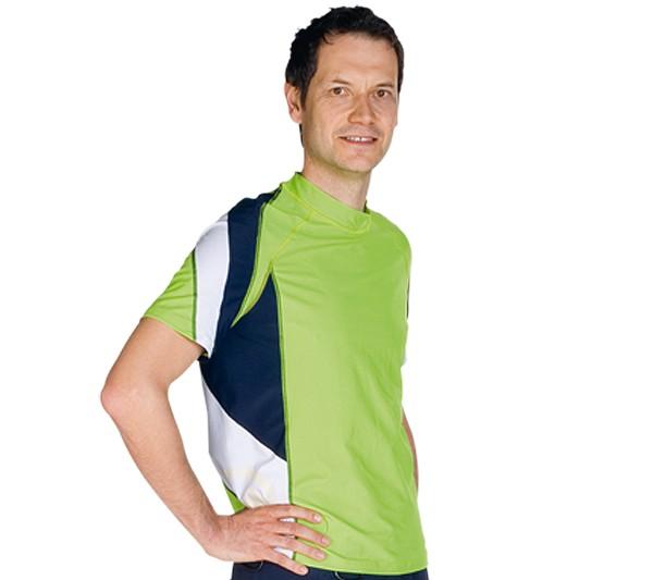 UV Sonnenschutz Kurzarmshirt 'force meta' 50370 für Herren mit UPF 80 von hyphen