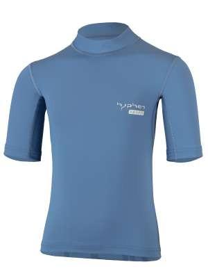 Kinder Kurzarmshirt ' pali stone blue' von Hyphen mit UPF 80