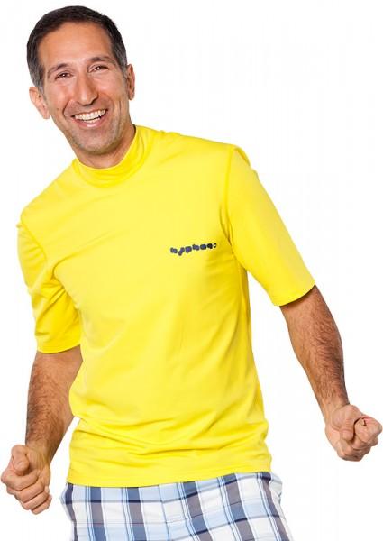 UV Sonnenschutz Kurzarmshirt 'lemon' 50927 für Herren mit UPF 80 von hyphen