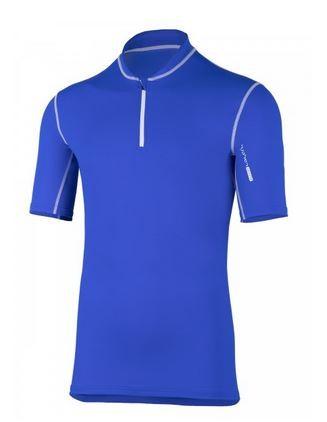 UV Sonnenschutz Kurzarmshirt 'satao cobalt' für Herren mit UPF 80 von hyphen