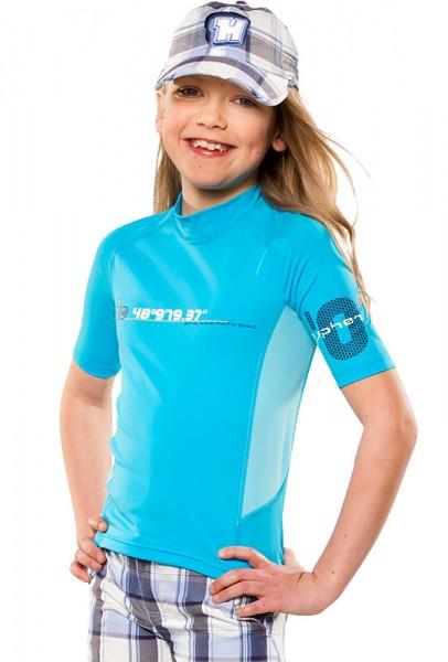 UV Sonnenschutz T-Shirt 'satellite' für Kinder mit UPF 80 von hyphen