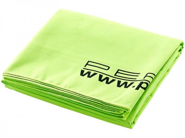 Mikrofaser-Badetuch, Farbe grün, 180x90 cm