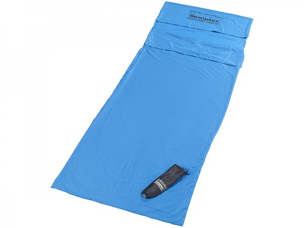 Semptec Hütten-Schlafsack aus Mikrofaser - Rechteckform