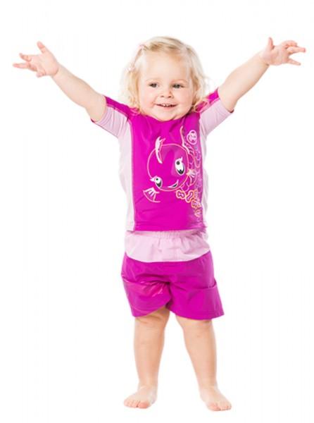UV Sonnenschutz Badeshorts 'moana baton rouge' für Kinder mit UPF 80 Marke hyphen