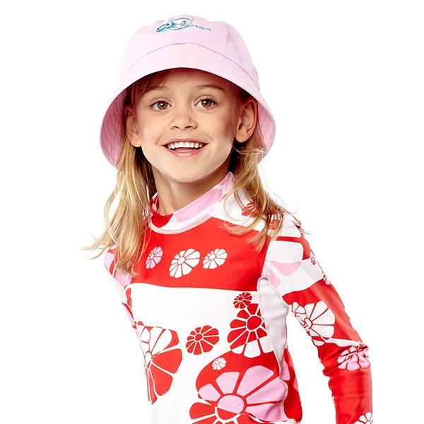 UV Sonnenhut 'baba rose' für Kinder mit UPF 80 Grösse 42-44 von hyphen