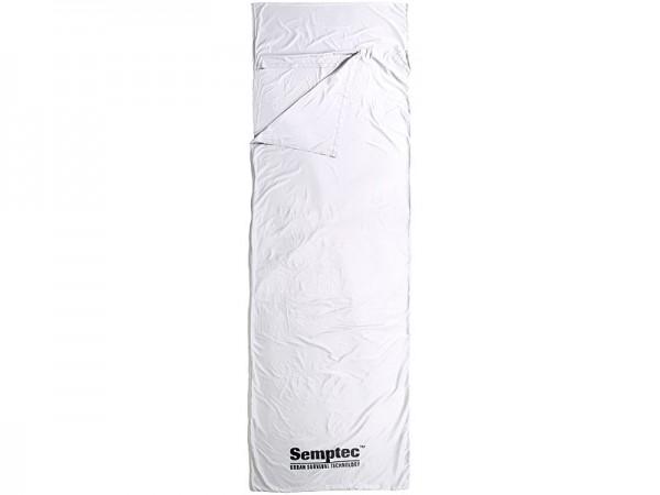 Semptec Inlett-Hütten-Schlafsack aus Mikrofaser - Rechteckform - 75x220cm