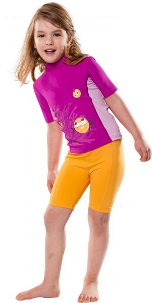 UV Sonnenschutz Kurzarmshirt 'hideaway' für Kinder mit UPF 80 von hyphen