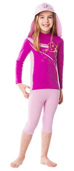 UV Sonnenschutz Langarmshirt 'baton rouge' für Kinder mit UPF 80 von hyphen
