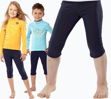 UV Sonnenschutz 3/4 Hose 'blue iris' für Kinder mit UPF 80 Marke hyphen