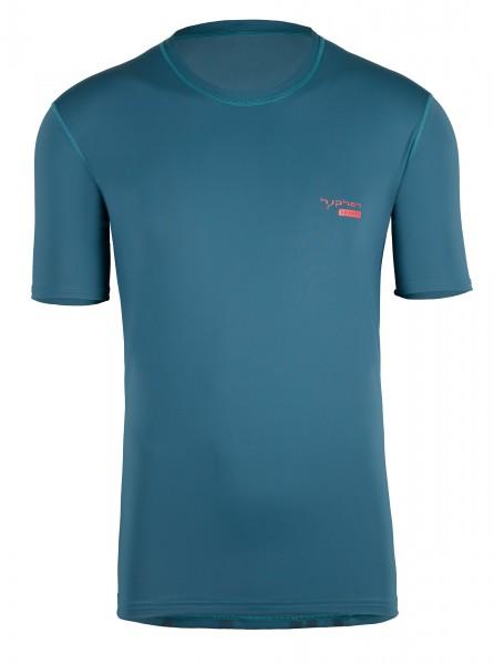 UV Sonnenschutz Herren Kurzarmshirt 'pali pine' mit UPF 80 von hyphen