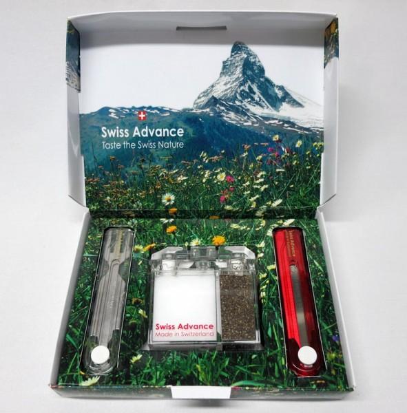 Geschenk-Set 'Picnicker' mit Reisebesteck und Gewürzstreuer von Swiss Advance
