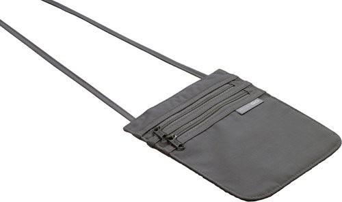 Design GO 604 Umhänge Dokumententasche / Brusttasche 'passport pouch' in schwarz
