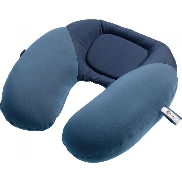 Design GO 460 Reisekissen / Nackenkissen 'Bean snoozer' für den Flug, Farbe blau