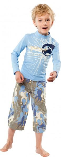 UV Sonnenschutz Langarmshirt 'mikado' für Kinder mit UPF 80 von hyphen